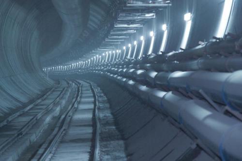 Túnel AVE de Meirama (A Coruña, Spain)