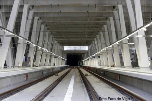Estación de AVE Vigo-Urziz (Vigo, Spain)